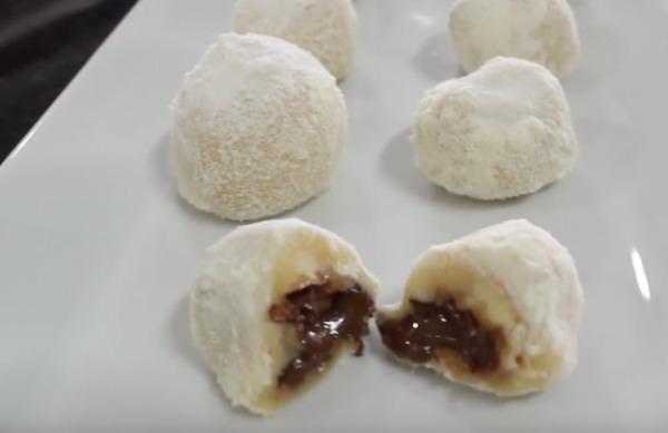 Brigadeiro de leite ninho com nutella sem lactose