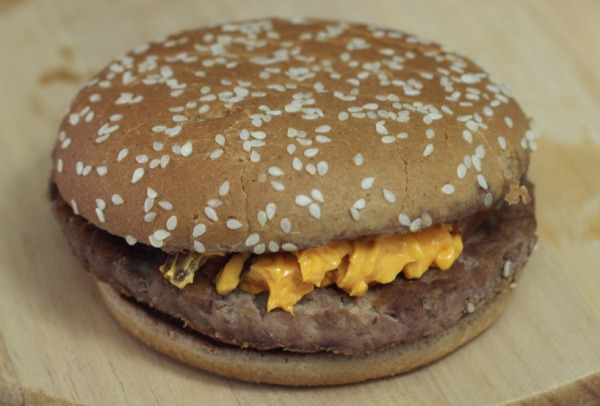 Cheddar Mcmelt do Mcdonalds