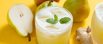 Suco Detox com Abacaxi e Gengibre