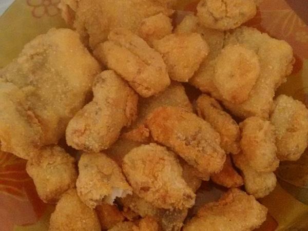 Filé de peixe empanado (crocante)