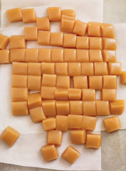 Bala de caramelo (Tipo toffee)