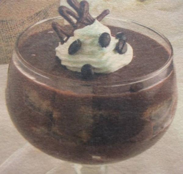Pavê de café com chocolate
