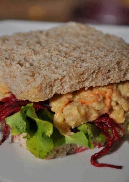 Sanduíche Natural (vegana)