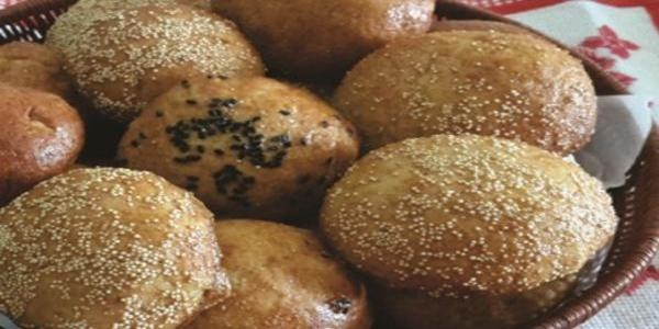 Pão sem glúten de amaranto