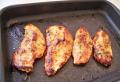 Filé de peito de frango no forno