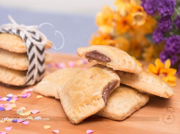 Tortinha Biscoito de Nutella