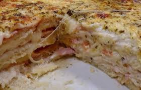 Sanduíche de Forno Cremoso