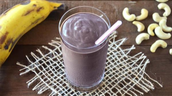 Milkshake de Açaí com Banana