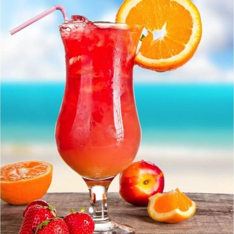 Sex on a beach drink