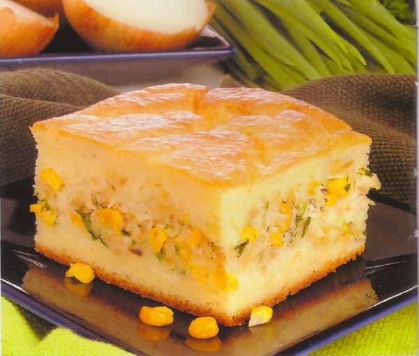 Torta Salgada - Recheio Caipira