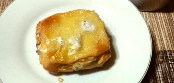 Torta de Tapioca com Recheio de Ricota