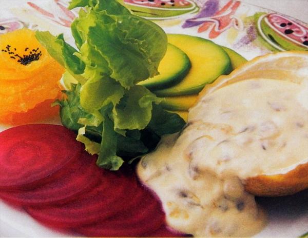 Salada de Beterraba e Maracujá