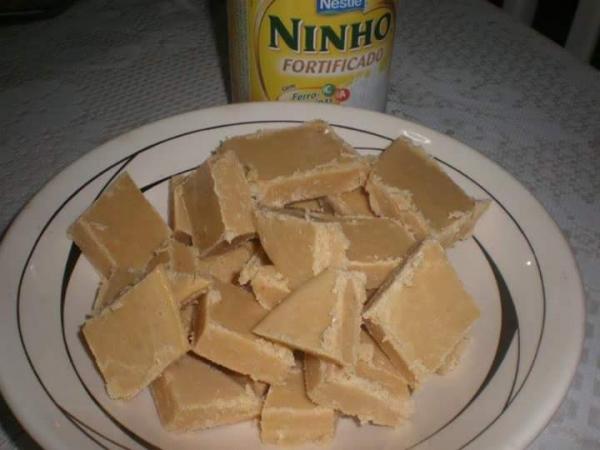 Doce de leite ninho