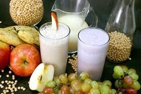 Suco de Soja Com Frutas