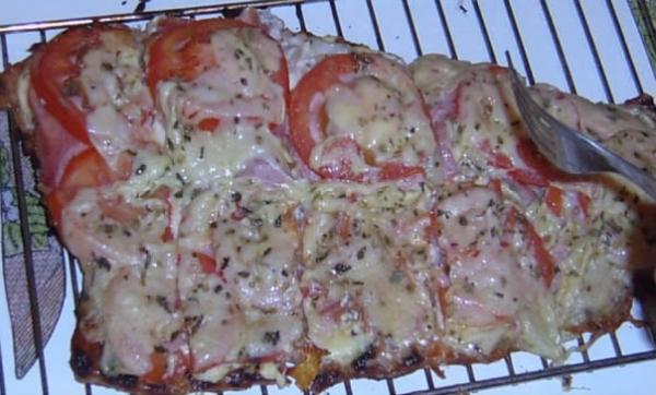 Pizza de Pacú