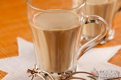 Bebida de creme de leite e café