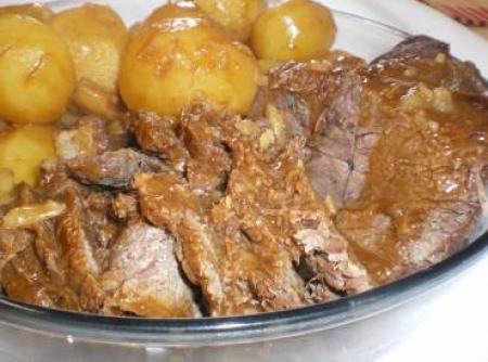 Carne assada rapida
