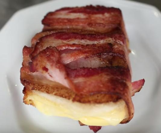 Queijo Quente com Bacon