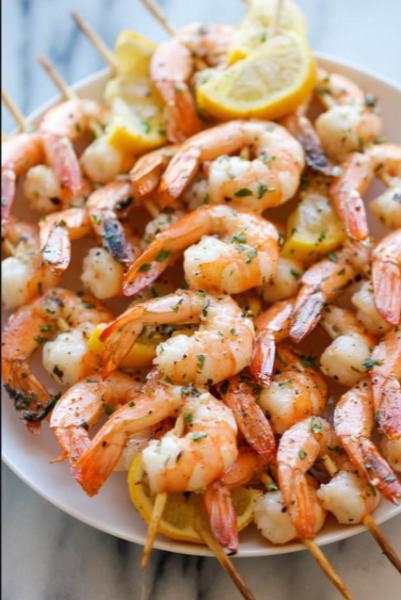 Espetinho de Camarão (Shrimp Kebabs)