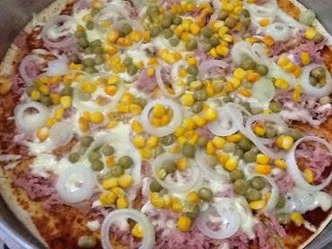 Pizza de Liquidificador Rápida