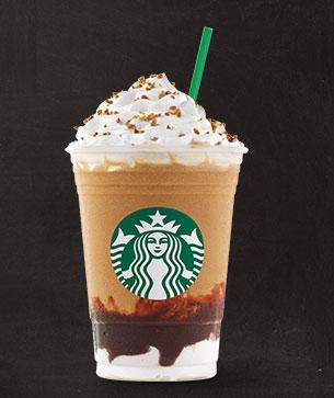 Frappuccino de café e Chocolate