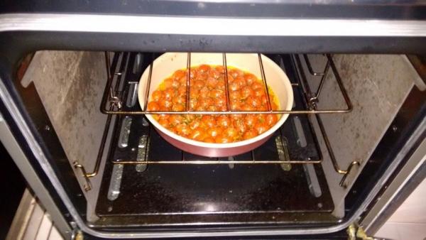 Compota de tomate cereja