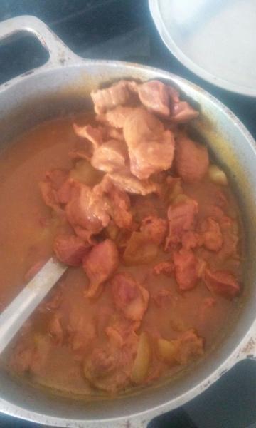 Moela cozida