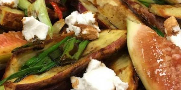 Salada De Batata Doce e Figo