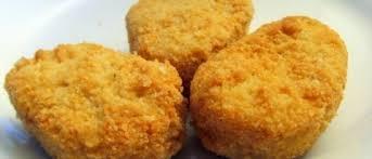 Nuggets Caseiros com Molho de Mostarda e Mel