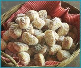 Biscoito nhoque doce