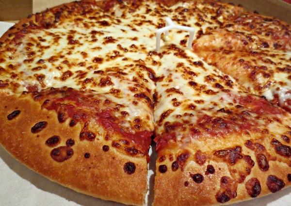 Massa de Pizza Com 25CM
