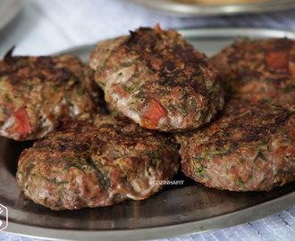 Hambúrguer de carne moida light