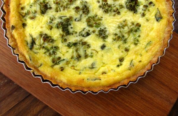 Brócolis ao queijo light