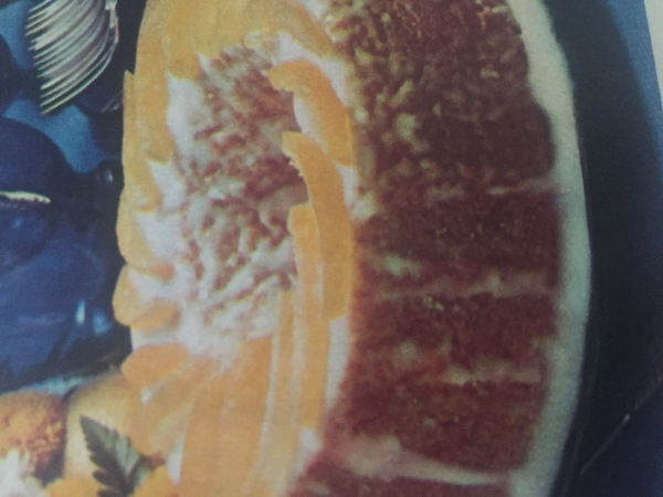 Losangos de laranja