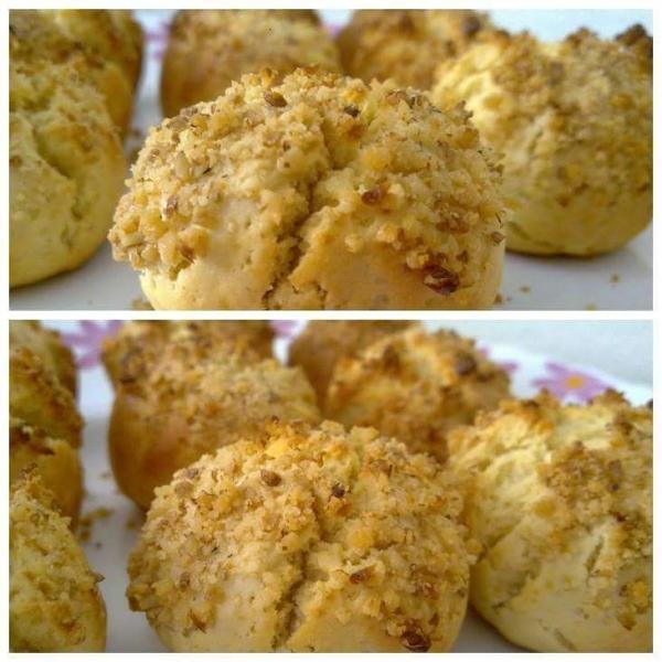Biscoitos de Ricota e Mel