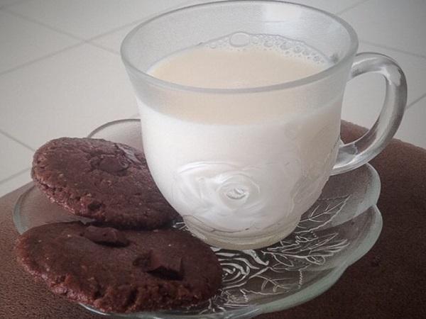Cookie de chocolate meio amargo e aveia