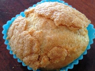 Cupcake proteico de aveia fit