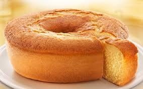 bolo branco