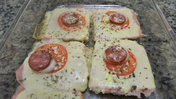 Pizza de Pão de Forma (Receita Rápida)