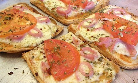 Pizza Pão de Forma Rápida
