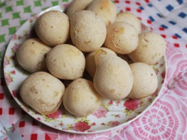 Pão de Queijo de Batatas Rápido