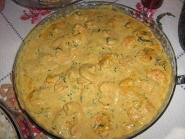 Camarões ao Curry