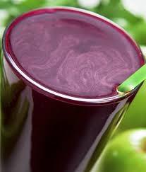 suco de uva com canela
