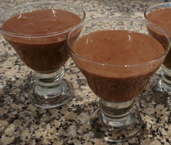 Mousse de chocolate simples