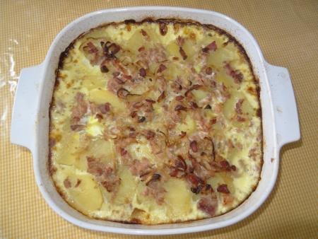 Torta de Batata com Atum