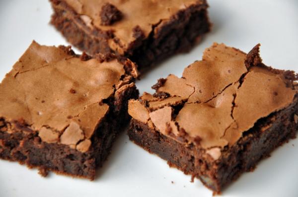 Brownie com menta
