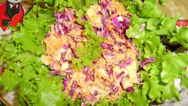 Salada perfeita e fácil