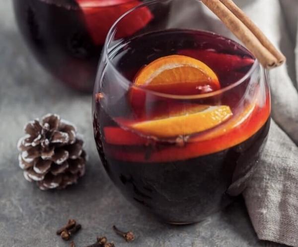 Vinho quente de festa junina