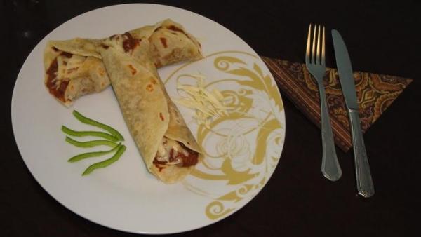 Chilli mexicano com feijão