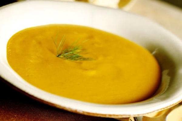Sopa de legumes de liquidificador